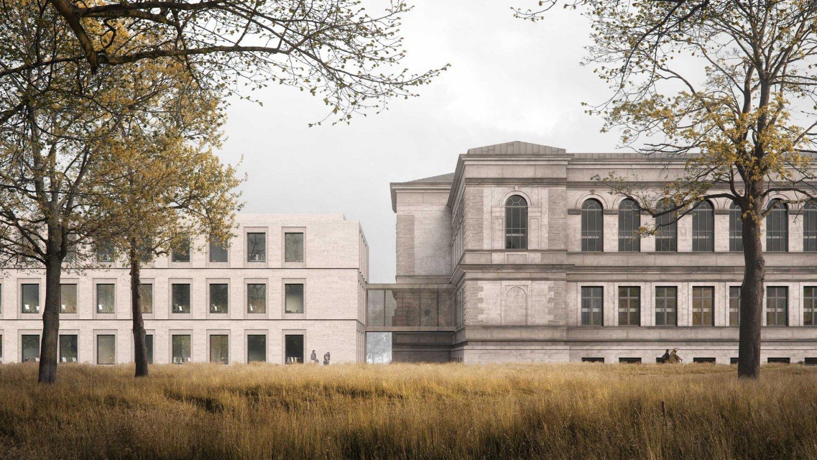 Annex for the Herzog August Library, Wolfenbüttel