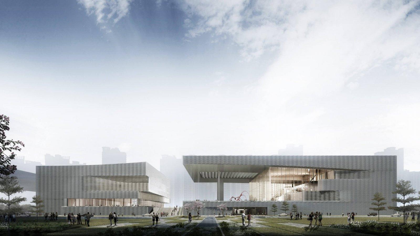 Shenzhen Art Museum New Venue & Shenzhen Second Library